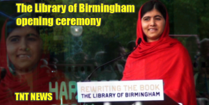 The Library of Birmingham opening ceremony
